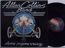 ALLEN COLLINS disco LP 33 g HERE THERE & BACK 1983 made in ITALY Lynyrd Skynyn