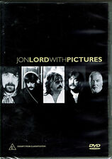 Jon Lord With Pictures, BRAND NEW FACTORY SEALED (PAL Video, 2003, Thames)