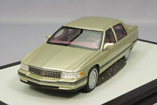 1 43 GLM Handbuild Resin Model Cadillac Sedan De Ville 1994 Silver Gold Metallic