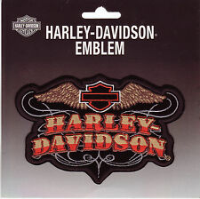 Harley Davidson Aufnäher/Patch Modell Western Style Größe ca.13,0 cm x 8,5 cm