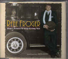 Rene Froger-Thats When Ill Stop Loving You cd maxi single