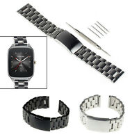 Stainless Steel Metal Watch Band Bracelet for ASUS Zenwatch WI500Q  2nd Gen 49mm