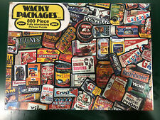 1973 Wacky Packages Puzzle Jaymar Topps New