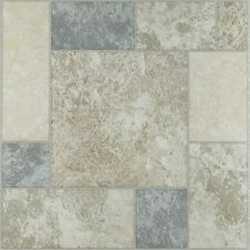Achim Nexus Marble Blocks 12x12 Self Adhesive Vinyl Floor Tile - 20 Tiles/20 sq