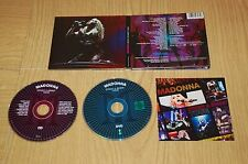 Madonna ‎–Sticky & Sweet Tour (2010) CD + DVD ORIGINALE Warner Bros 9362-49728-4
