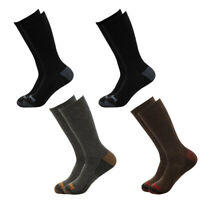 4 Pairs Timberland Boys Crew Socks Kids Boot Winter Black Brown Dress Outdoors