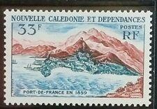 Nouvelle Calédonie Timbre N°301 Port-de-France / NEUF**/ 1960