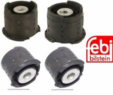 BMW E46 Axle Carrier Mount SET (x4) Rear Subframe BILSTEIN Bushing Buffer Bush