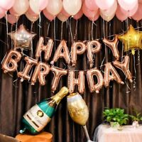 Rose Gold Party Baloon 18th 21st 30th Birthday Balloon Birthday Decorations