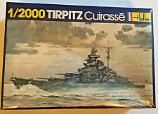 HELLER 1/2000 TIRPITZ MODEL SHIP (No 052) NEW IN ORIGINAL BOX w/SHRINK WRAP