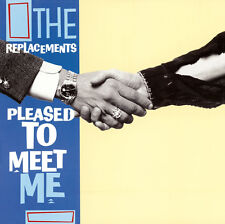 The Replacements - Pleased to Meet Me Rhino 8122795477 Vinyl