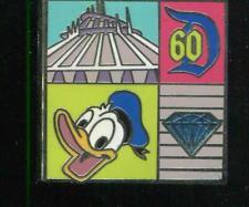 Disneyland 60 Diamond Celebration Pin Trading Starter Donald Disney Pin 109412