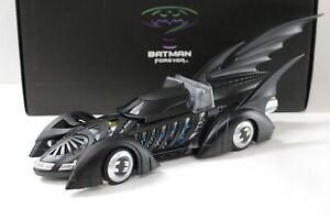 1:18 Hot Wheels Elite Batman Forever Batmobile black