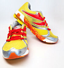 NEWTON DISTANCE S  3.5 Kids  5 Women Stability Racer Sneakers Running Yellow Red