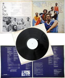 Cimarons On The Rock Rare White Label Reggae LP Unique prototype Gatefold sleeve