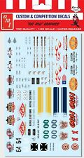 AMT #24 Rat Rod Graphics Decal Sheet  waterslide 1/25
