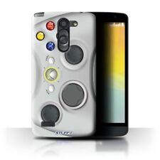 Étuis, housses et coques blancs brillants pour téléphone mobile et assistant personnel (PDA) LG