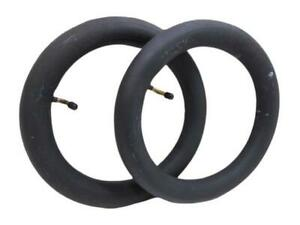 """2 x OUT N ABOUT PUSHCHAIR / PRAM INNER TUBE BENT VALVE 12"""" x 2-1/4"""""""