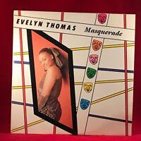 "EVELYN THOMAS Masquerade 1984 UK 2-track 12"" vinyl single EXCELLENT CONDITION"