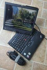 ThinkPad X61 Tablet Core 2 Duo 1.60GHz 2GB RAM 80GB HDD  WIFI LINUX