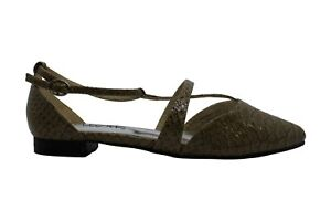 Bellini Womens Passion Pointed Toe Casual Ankle Strap Sandals, Taupe, Size 6.0