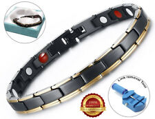 Magnetic Bracelet Carpal Tunnel Relief Arthritis Therapy Bio Healing Pain Relief