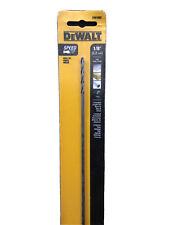 """DEWALT Extra Long Black Oxide Drill Bit, Metal/Wood Drilling 1/8"""" x 12"""" (M)"""