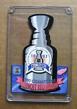 Detroit Red Wings 1997 Stanley Cup Commemorative Card !