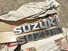 Suzuki 2strokes GP100 GP125 Fuel Tank Emblem NOS Genuine Japan P/N 68111-39100