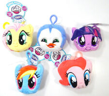Lot of (5) Different Radz Plusheez My Little Pony Clip-On 3-1 Candy and Poster