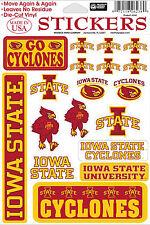 Iowa State Cyclones Vinyl Die-Cut Stickers