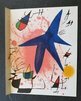 Joan Miro Original Stone Lithograph I Mourlot 1972 Limited ed. Rare
