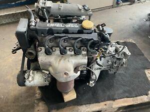 Opel Z16SE Motor 1.6 75.702km Astra G Meriva A 62KW 84PS