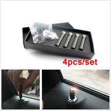 4pcs Universal Carbon Fibre Interior Door Lock Knob Pins For Auto Car Truck SUV