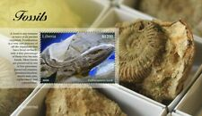 More details for liberia fossils stamps 2020 mnh prehistoric animals 1v s/s ii