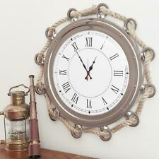 New~24 Inch Porthole Clock with Rope!~A Must-Have!~Sale!