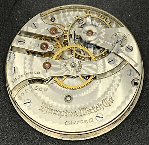 Hampden Grade 109 Pocket Watch Movement 16s 15j Openface Model 4 Parts F5564