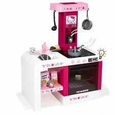 Smoby Hello Kitty Kinderküche Spielküche Soundeffekt mit 19 Teile Zubehör Küche