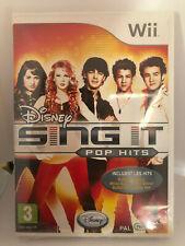 SING IT - POP HITS - NEUF - Wii