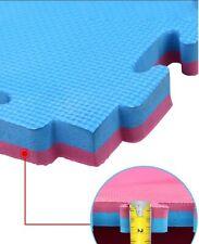 Materassine Tatami in EVA misura 100x100x2cm ad incastro con cornici perimetrali