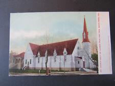 c 1910 Postcard Church Built from One Tree Santa Rosa California Sonoma County