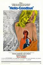 HELLO-GOODBYE Movie POSTER 27x40 Michael Crawford Genevieve Gilles Georges Bever