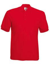 Camisas y polos de hombre rojo talla XL de poliéster