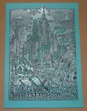 Black Keys David Welker New York Concert Poster Print Signed Numbered 2014 Maze