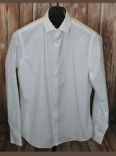 TAILOR & CUTTER white long sleeved shirt size collar 15.5 men