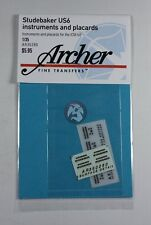 Archer 1/35 Studebaker US6 Truck Instruments Placards and Grille Logo AR35280