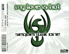 Sequential One Maxi CD My Love Is Hot - Germany (EX/VG)