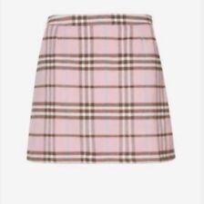 Plaid A-line Short/Mini Skirts for Women