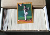 2002 Topps Series 1 Baseball complete 365 card set