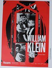 ORIGINAL WILLIAM KLEIN GUN 1, NEW YORK 2014 AMSTERDAM GALLERY POSTER